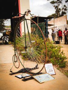 Ecclectic antique bike