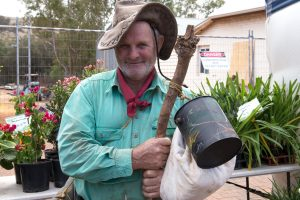 Buy a plant at the Toodyay Garden Club stall