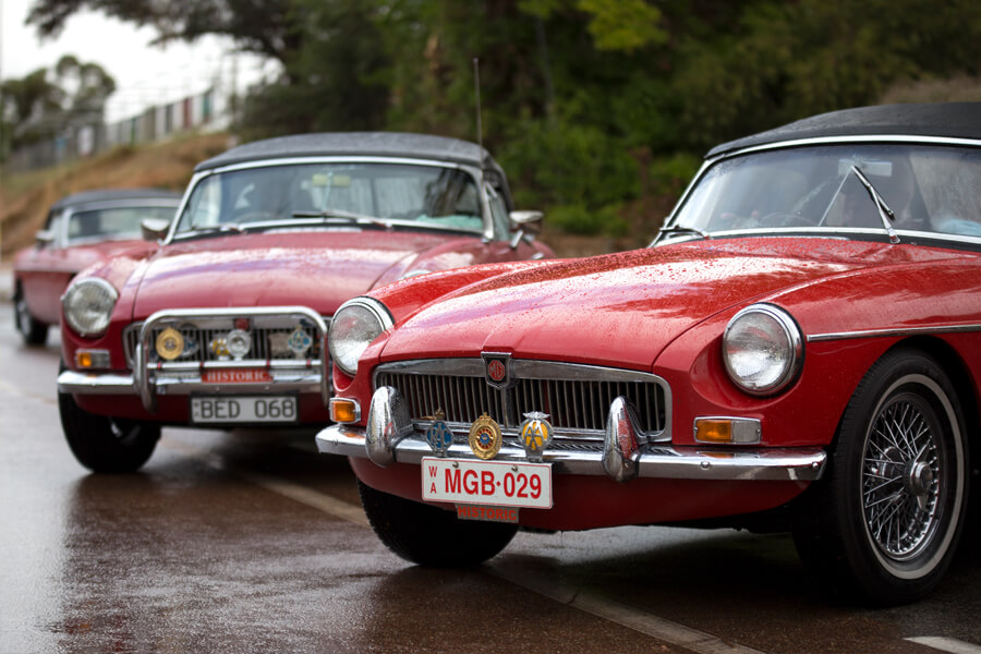 MG Classic Car Club collection