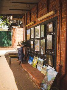 Art galleries pop up in every corner of Toodyay