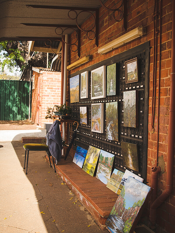 Art galleries pop up in every corner of Toodyay